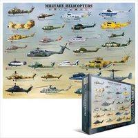 Пазлы Eurographics Военные вертолеты