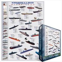 Пазлы Eurographics Подводные лодки