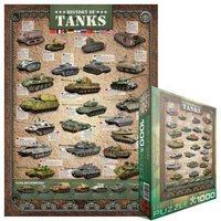 Пазлы Eurographics История танков