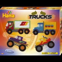 Термомозаика HAMA Большой набор Машины та грузовики  Midi 5+