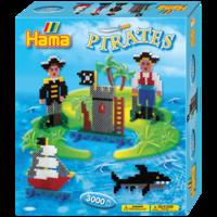 термомозаика HAMA Большой набор Пираты, Midi 5+
