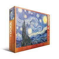 Пазл Eurographics Звездная ночь Винсент Ван Гог, 1000 элементов