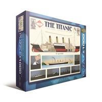 Пазл Eurographics Титаник, 1000 элементов