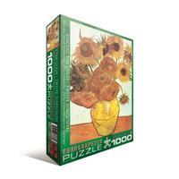 Пазл Eurographics Двенадцать подсолнухов Винсент ван Гог, 1000 элементов