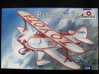 Pitts S-2A Пилотажный самолет-биплан