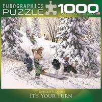 Пазл Eurographics Твоя очередь, 1000 элементов