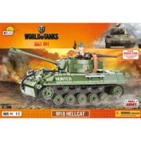 Конструктор COBI World Of Tanks САУ М18 Хеллкет, 465  деталей