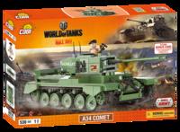 Конструктор COBI World Of Tanks A34 Комета, 530  деталей