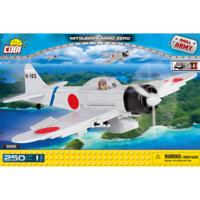 Конструктор COBI Вторая Мировая Война Самолет Мицубиси А6М2 Зеро, 250  деталей