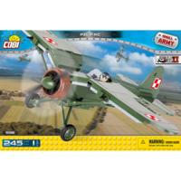 Конструктор COBI Вторая Мировая Война Самолет PZL P.11C, 245  деталей