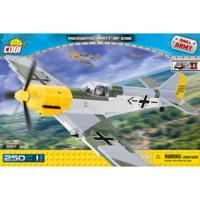 Конструктор COBI Вторая Мировая Война Самолет Мессершмитт Bf-109E, 250  деталей