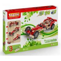 Конструктор ENGINO Машины, 3 модели с электродвигателем