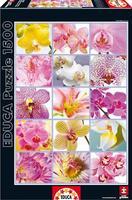 Пазл EDUCA Цветочный  коллаж 1500 элементов