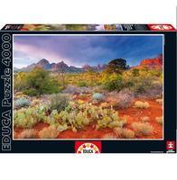 Пазл EDUCA Закат в Ред Рокс, Аризона США 4000 элементов