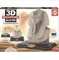 Пазл 3D EDUCA Скульптура, Тутанхамон, 160 элементов