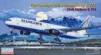 "Пассажирский авиалайнер ""Трансаэро"" Б-773"