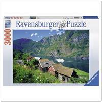 Пазл Ravensburger Согне-фьорд, Норвегия, 3000 элементов