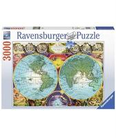 Пазл Ravensburger Античная карта мира 3000 элементов
