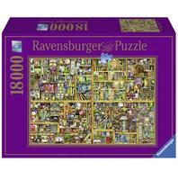 Пазл Ravensburger Причудливый книжный магазин,  18000 элементов