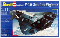 Истребитель-невидимка Стелс F-19