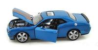 Автомодель 2008 Dodge Challenger (синий металлик)