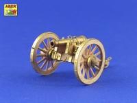 Наполеоновские войны – английская 6-фунтовая пушка
