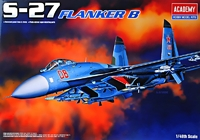Истребитель Су-27 Flanker B
