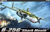 """Бомбардировщик B-25G """"Shark Mouth"""""""