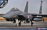 Истребитель-бомбардировщик F-15E Seymour Johnson