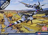 Истребители: Spitfire Mk XIVC и Typhoon Mk IB