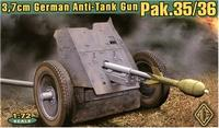 3.7cm Pak.35/36 Германская противотанковая пушка