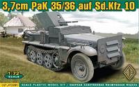 Бронетранспортёр 37mm PaK 35/36 auf Sd.Kfz 10