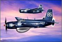 Противолодочный самолет Grumman AF-2W Guardian