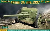 Французская противотанковая пушка 47 мм SA Mle 1937