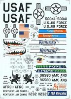 Декаль на C-130 Hercules USAF