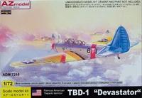 Бомбардировщик TBD-1 Devastator