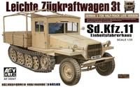 БТТ Sdkfz11 поздняя версия с деревянной кабиной (пластик)