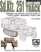 Sdkfz251 TRACK THE LATEST TYPE  (WORKABLE)