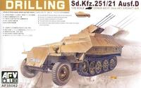Sd.Kfz. 251/21  Ausf.D Drilling