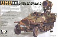 """Самоходный инфракрасный прожектор Sd.Kfz.251/20 Ausf. D.""""UHU"""""""