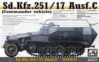 Sd. Kfz. 251/17 Ausf. C (commander Vehicle)
