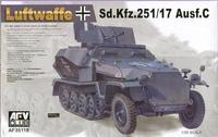 Самоходная зенитная установка Sd.Kfz 251/17 Ausf.C
