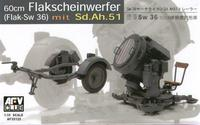 Прожектор GERMAN SW-36 SERCHLIGHT/WITH Sd.Ah.51 TRAILER