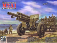 Американская полевая 105mm гаубица M2A1 Carriage M2