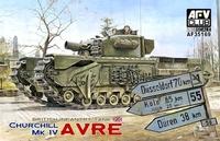 Танк «Черчилль» MK IV AVRE