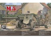 Противотанковая  105 мм пушка M5 Carriage M6