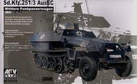 Машина связи Sd. Kfz. 251/3 Ausf. C