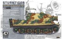 Немецкая САУ STURMTIGER