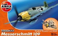 Немецкий истребитель Messerschmitt Bf109 (быстрая сборка без клея)