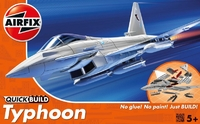 Истребитель Typhoon (быстрая сборка без клея)